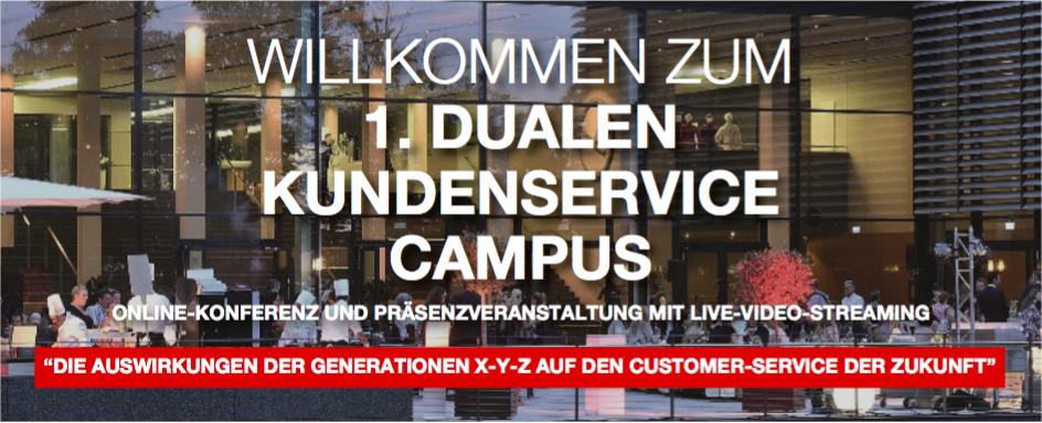 Ulrike Dolle spricht auch 1. Dualer Kundenservice Campus